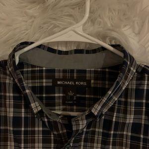 Michael kors collard men's shirt